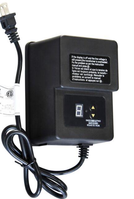 600 Watt 12v Low Voltage Landscape Lighting Transformer For Sale Online Ebay
