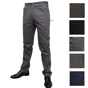 Aimable Pantalone Uomo Tasca America Classico Vita Alta 46 48 50 52 54 56 58 60 Cotone
