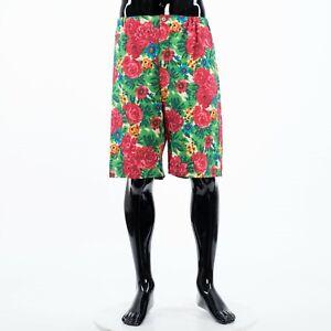 GUCCI-950-Multi-Color-Linen-Floral-Shorts