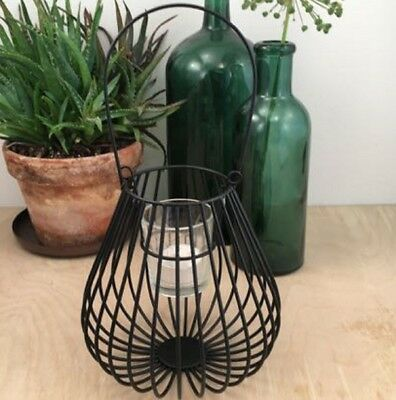 madleys windlicht laterne metall schwarz teelichthalter. Black Bedroom Furniture Sets. Home Design Ideas