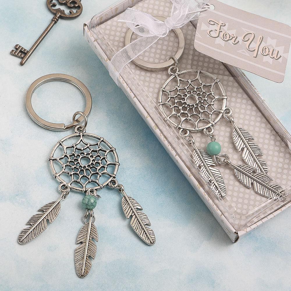 150 Dream Catcher Key Chain Indian Design Mariage Faveurs Bridal Shower Favor