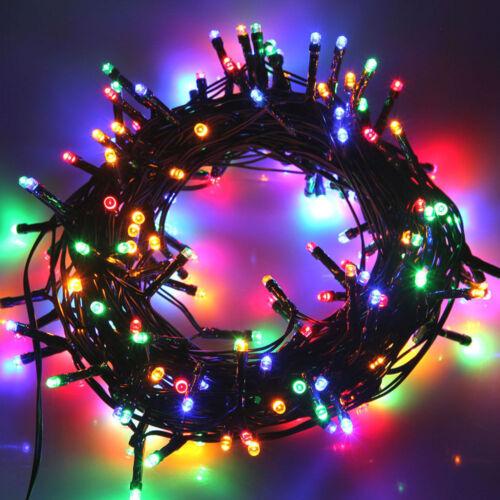 Guirlande lumineuse 10 km Fensterdeko Chambre Décoration De Noël éclairage ip65