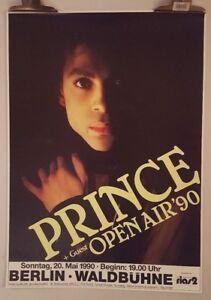 Prince-open-air-039-90-Berlin-1990-Original-Tour-Concert-poster