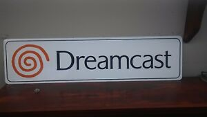 Dreamcast-Logo-Aluminum-Sign-6-034-x-24-034
