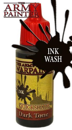The Army Painter WP1136 Arcylic Warpaint Dark Tone Ink Wash 18ml Bottle - 2nd P