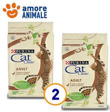 2 SACCHI - Purina Tonus Cat Chow Adult Anatra 10 kg