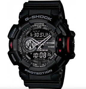 Casio G Shock *GA400-1B Anadigi XL All Black Gshock Ivanandsophia COD PayPal