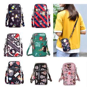Fashion-Handmade-Cellphone-Coin-Purse-Cross-body-Cartoon-Shoulder-Bag-Polyester