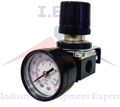 "1//4/"" air compressor in line compressed air regulator w// Gauge"