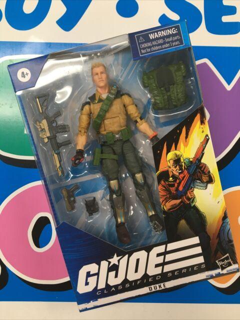 "2020 Hasbro GI Joe Classified Series - DUKE 6"" Figure (04)"