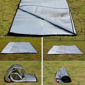 Folding Sleeping Mats Picnic Beach Mattress EVA Camping Mat Aluminum Foil