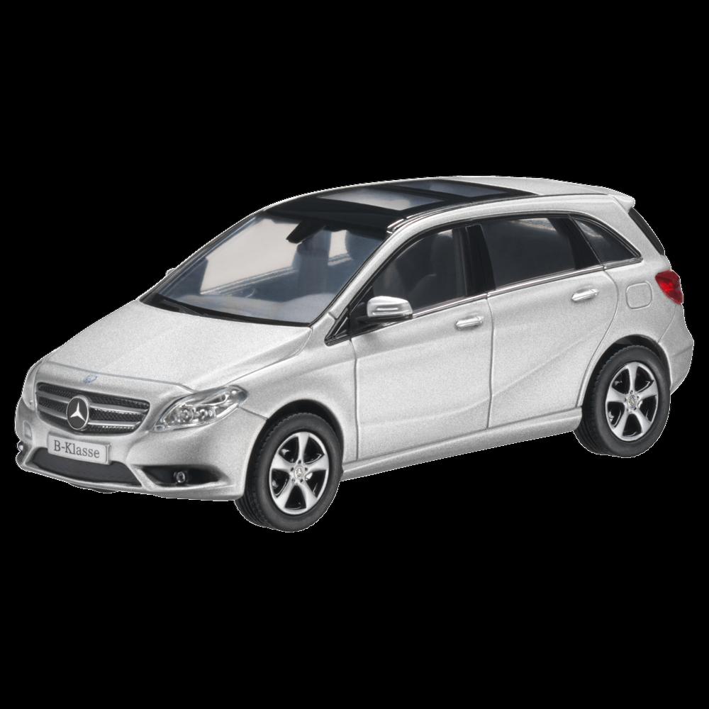 Mercedes-Benz Modèle de Voiture 1 43 W246 Classe B Argent B66961405