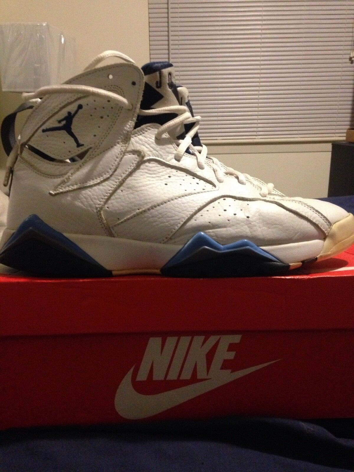 Air Jordan Retro 7 French Blue size 12 Great discount
