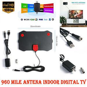 200 Mile Long Range Antenna TV Digital HD 4K Antena Digital Indoor HDTV 1080p
