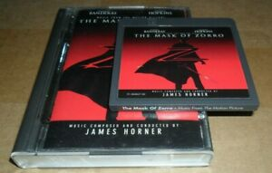James-Horner-The-Mask-Of-Zorro-Soundtrack-Minidisc-Minidisk-Mini-Disc-Disk-MD