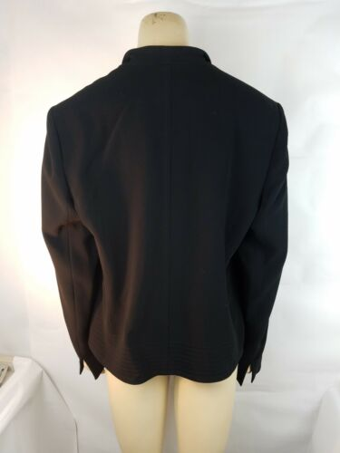 Jacket Black Louben Women's Uitstekend Sz14 SGUzpMqV