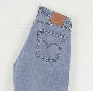 Vintage-Levi-039-s-517-02-Blue-Straight-Fit-Men-039-s-Jeans-W33-L36
