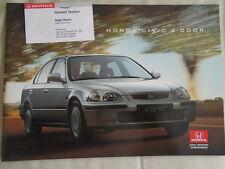 Honda Civic 4 Door brochure Nov 1995