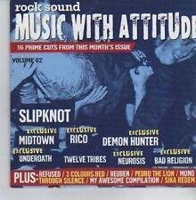 (CV331) Rock Sound Music With Attitude Volume 62 - 2004 CD