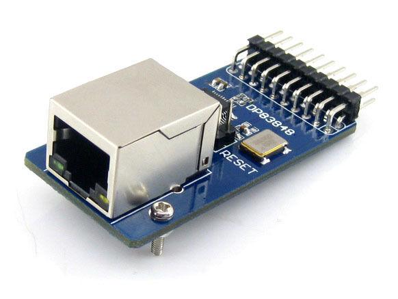 DP83848 Ethernet Physical Layer Transceiver RJ45 Connector Development Board
