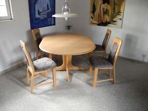 Esszimmer Sitzgruppe Erle Massiv Von Musterring Top Zustand Tisch