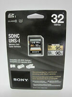Sony 32g Xavc S 4k Ultra Hd Camcorder Sd Card For Sony Ax53 Ax100 Ax33 Cx900 Cam