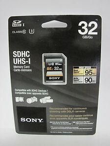 Sony 32G XAVC S 4K Ultra HD SDXC SD card for Canon EOS 80D 70D 60D DSLR camera