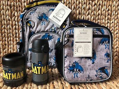 Pottery Barn Kids Small Backpack Water Bottle Lunch Box