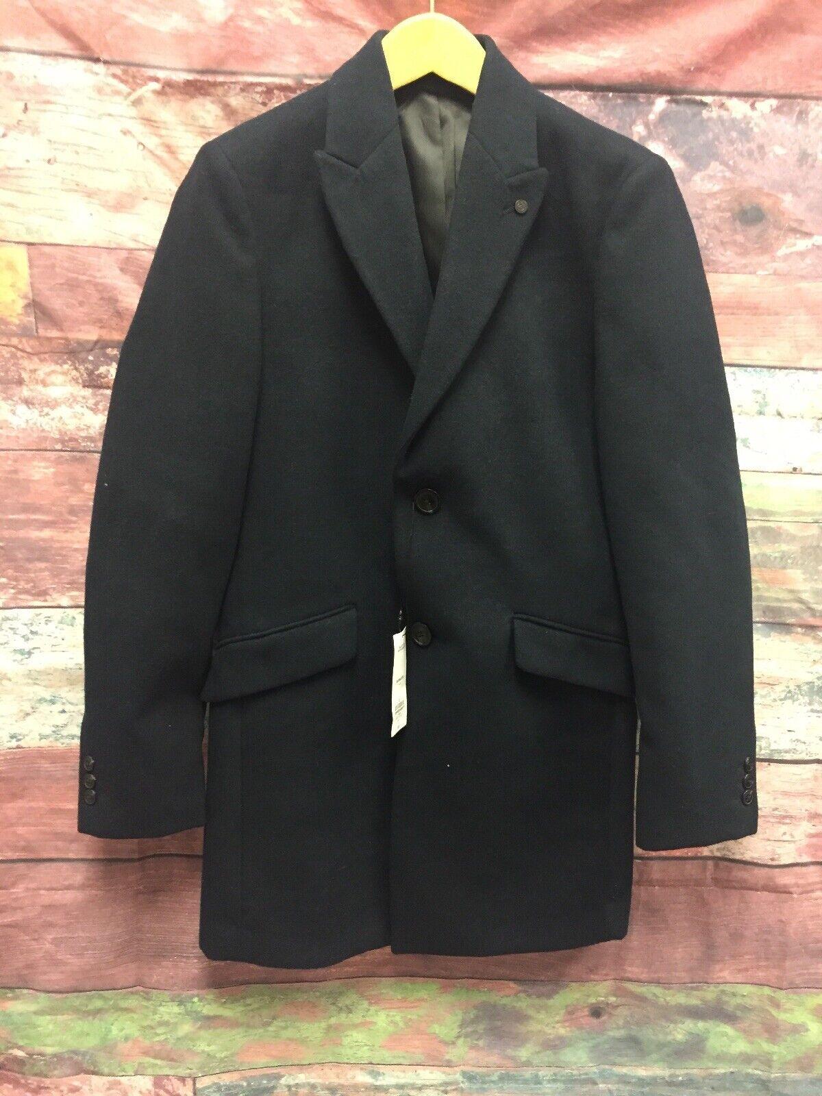 NEW Burton Menswear Blazer 32-34 Chest XS Dark bluee