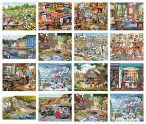 Gibsons-Jigsaw-250-500-amp-1000-Piece-Puzzles-FREE-P-amp-P