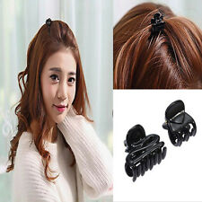 New 10 Mixed Small Plastic Black Hair Clips Hairpin Claws Clamps Hot Sale