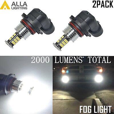 AllaLighting 5202 LED Driving Fog Light Bulb Golden Yellow 3000K Replacement VS