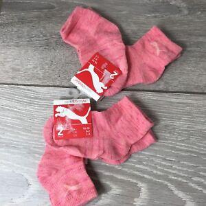 4-x-PUMA-Sneaker-Sport-Infant-Baby-Socks-4-Paires-UK-C0-C2-EU-15-18-A571-39