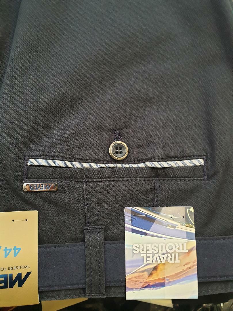 Meyer Oslo Blau Smart   Freizeithose 5014 18 107cm44 107cm44 107cm44 46 cm 48   50   52 Zoll | Starke Hitze- und Abnutzungsbeständigkeit  bf7a51