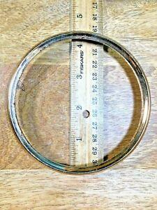 """4 1/4"""" Metal Clock Dial Trim Ring Surround   (Clock Dial Lot K1448)"""