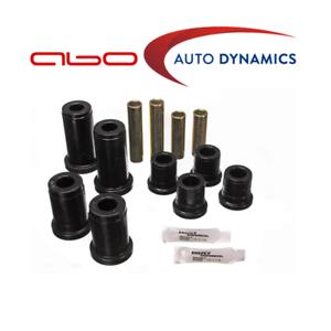 Energy Suspension Control Arm Bushing Set Black Front For Chevrolet #3.3134G