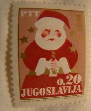 Yugoslavia Stamp 1966 Scott 846 A208  Christmas .20 Unused
