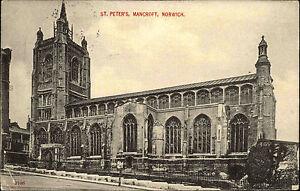 Norwich-Norfolk-England-AK-1906-Norwich-St-Peter-Cathedral-Kathedrale-Mancroft
