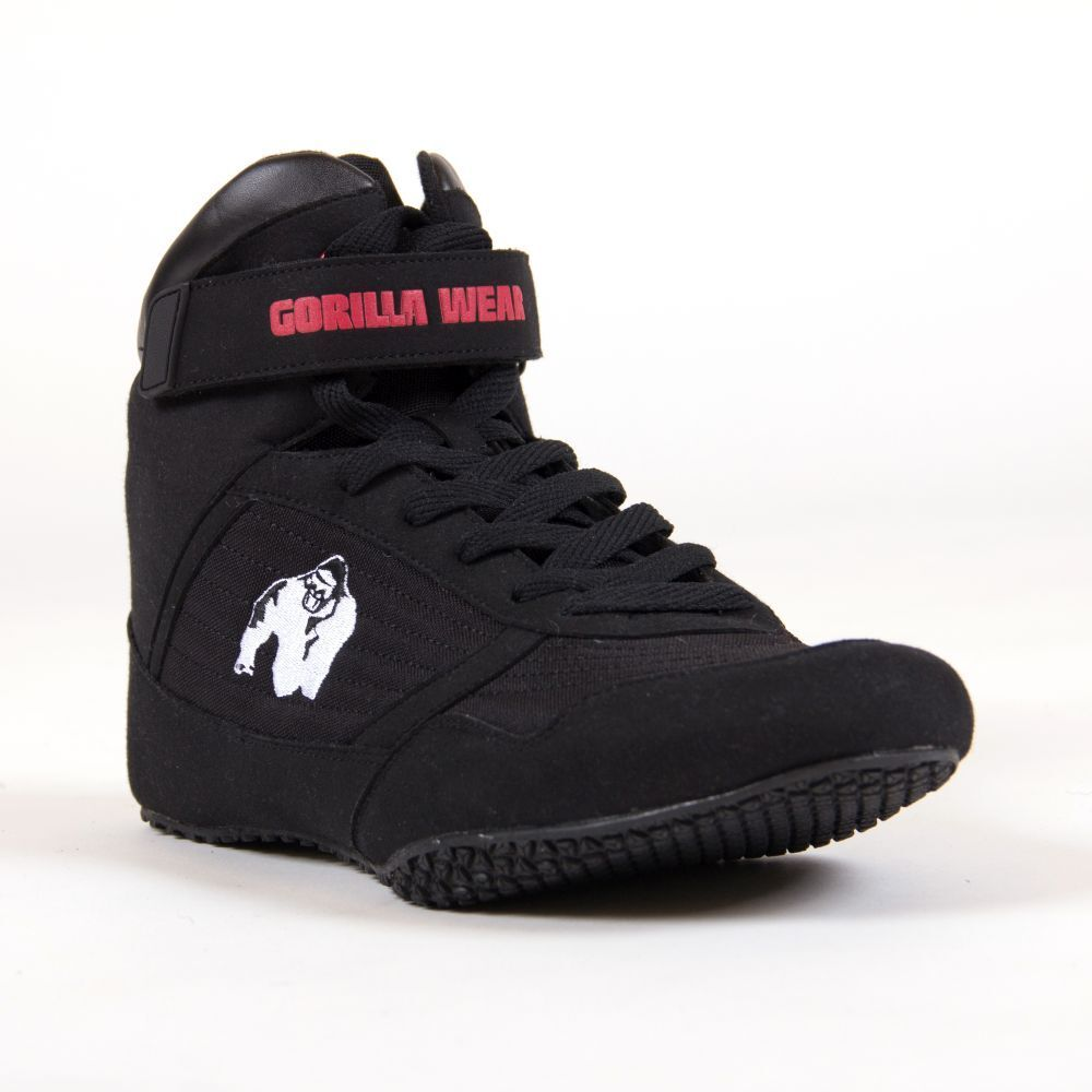 Gorilla Wear High Tops negro-Bodybuilding zapatos
