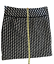 miniature 7 - Ann Taylor LOFT Black White Houndstooth Woven Mini Skirt Size 0 Fully Lined