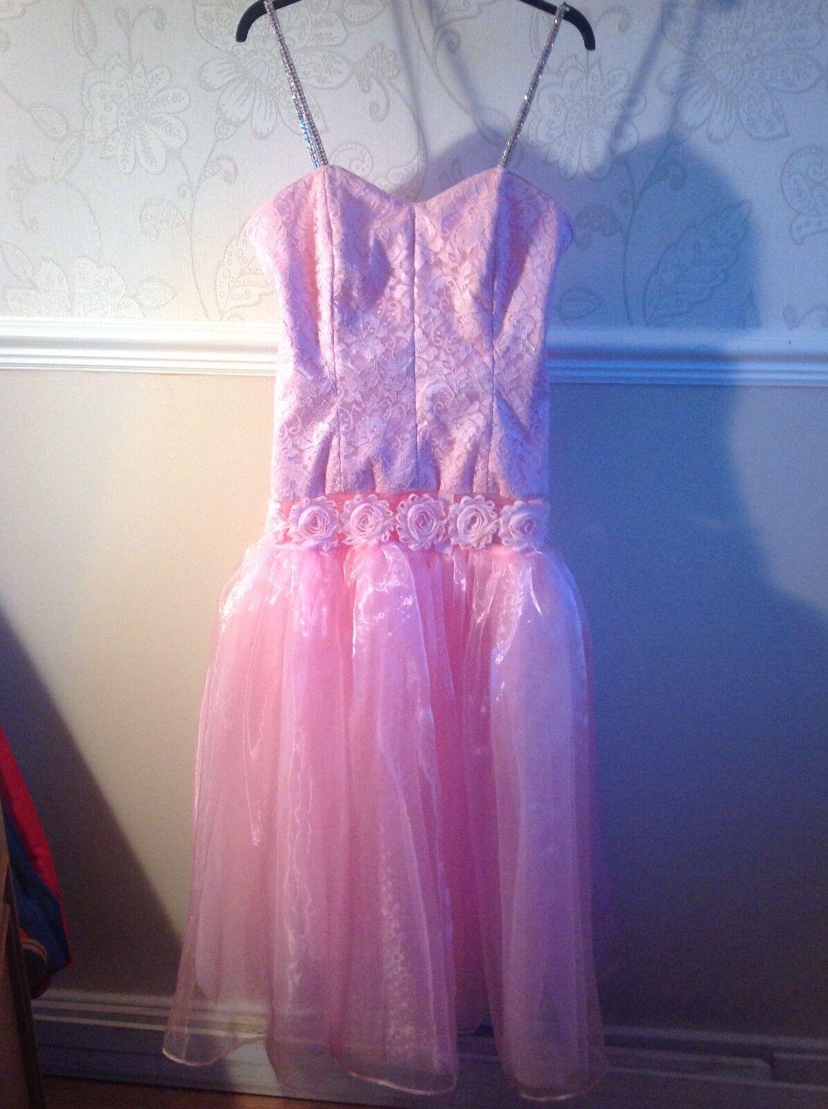 Brand New. Beautiful lace and organza Prom, Bridesmade, Evening, Wedding Dress