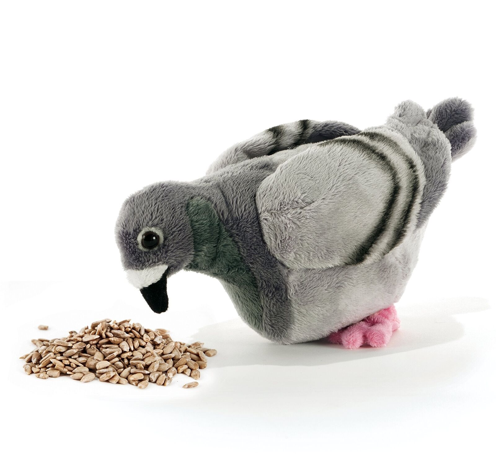Plush & Company 15826 Farm Claude Le Pigeon Plush Toy, 23 cm, Multi-Farbe