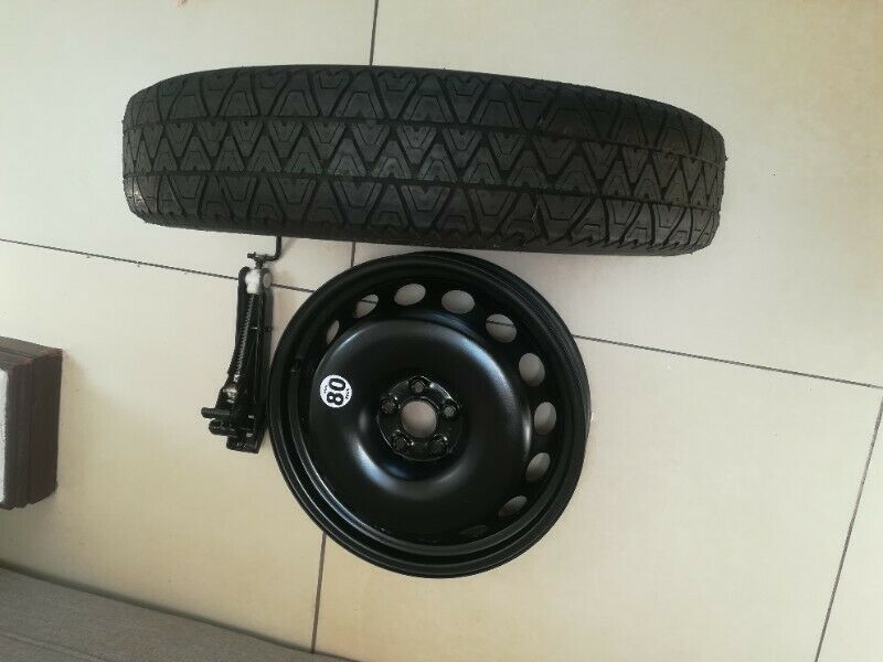 Audi TT Mk1 18 inch Original Space Saver Kit with Audi Jack and New Tyre