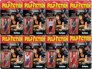 Pulp-Fiction-Quentin-Tarantino-8-Figuren-Set-Reaction-3-3-4-Inch-Funko