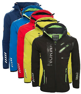 Giacca-Giubbotto-Jacket-Uomo-Geographical-Norway-Softshell-Men-Rainman-cappuccio