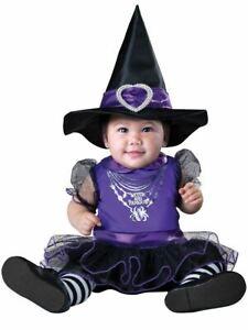 Filles pour bébé Sorcière /& Famous Halloween Fancy Dress Costume