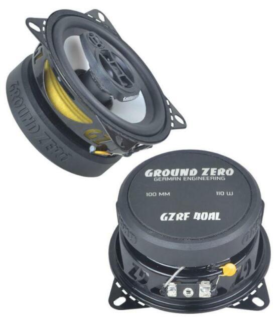 Ground Zero gzrf 40al - 10 cm coaxlautsprecher