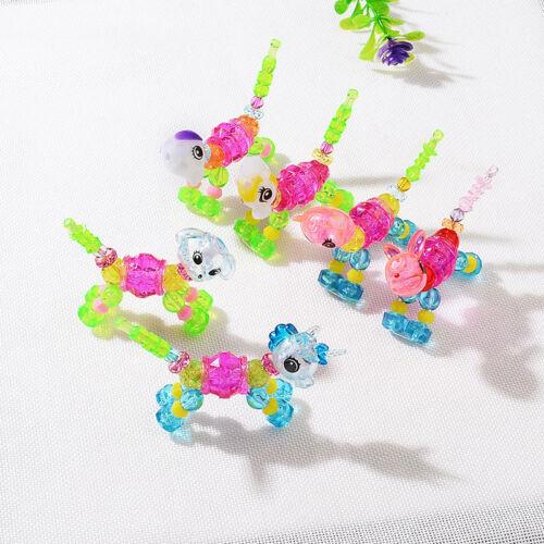 Child Children Kid Animal Bracelet Hand Chain Distortion Deformation DIY Toy