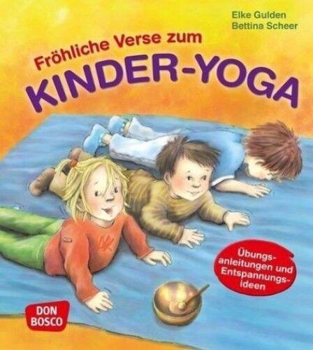 1 von 1 - Fröhliche Verse zum Kinder-Yoga von Elke Gulden; Bettina Scheer (Buch) NEU