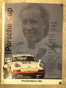 1990 Porsche 962 Porsche Cup Showroom Advertising Sales Poster RARE Awesome L@@K